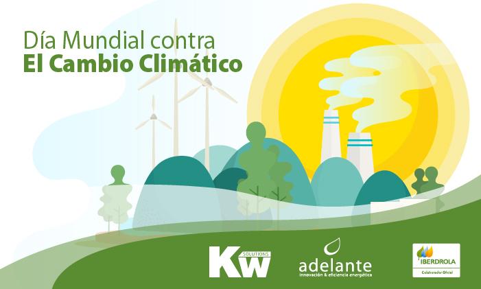 Imagen vectorial Día Internacional contra el Cambio Climático