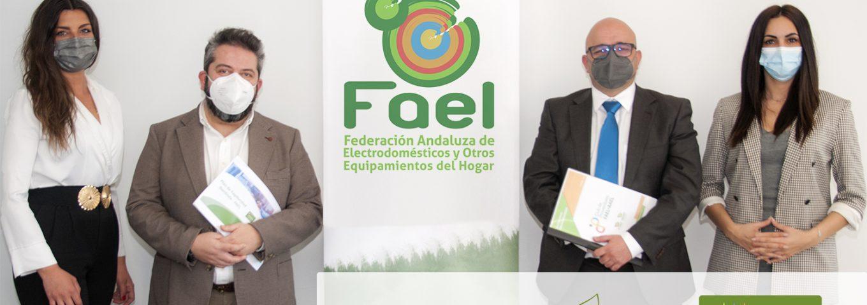 Firma acuerdo colaboración FAEL y Adelante